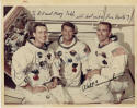 Apollo 7 Crew Signed Photo