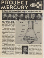 Hand signed by the Mercury 7