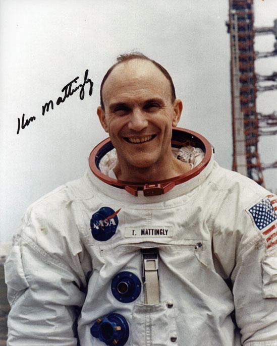 Ken Mattingly Astronaut Training Navy - Pics about space