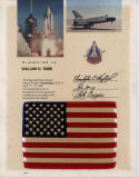 STS-1 Flag FLOWN